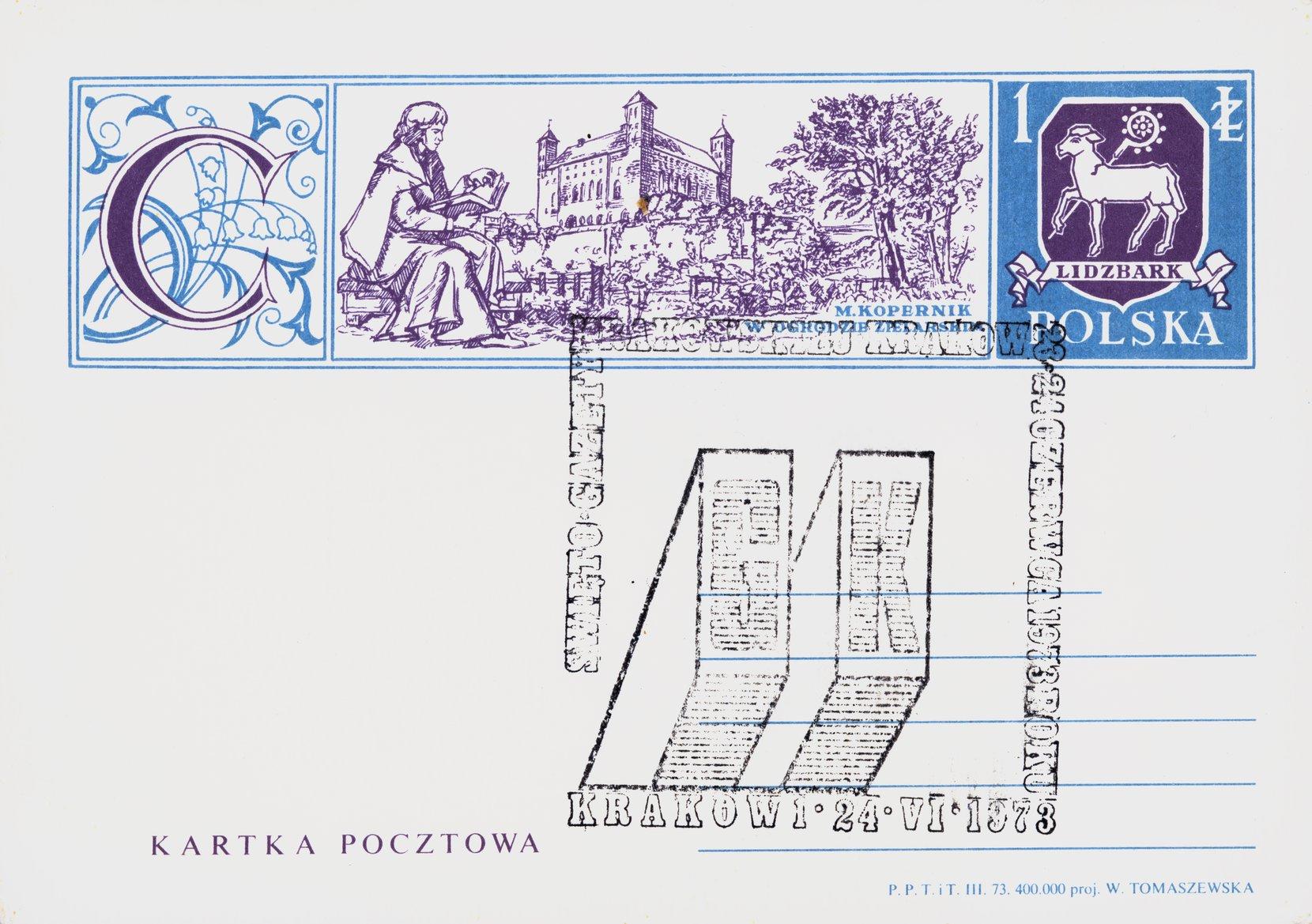 the gazeta krakowska festival postal card philately postal cards