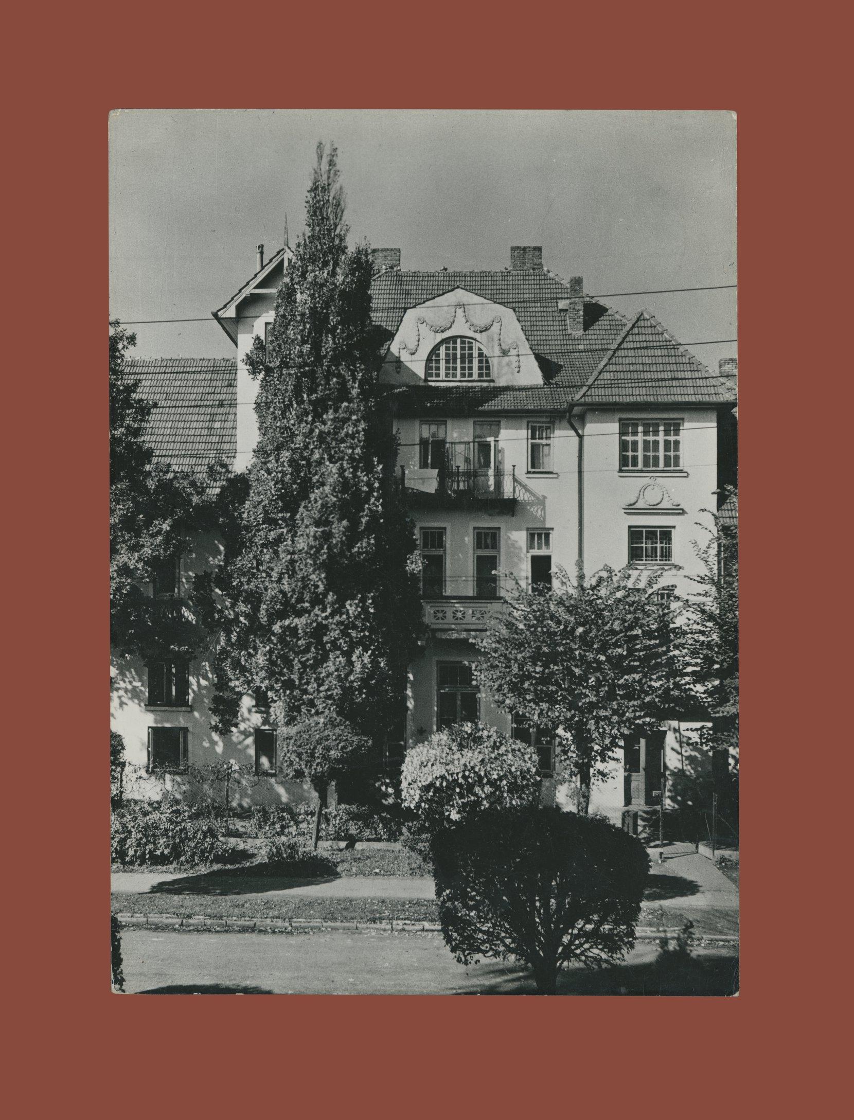 ciechocinek postcard (1961) postcards vintage – real photo (rppc)