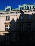 Spider's shadow, Kraków