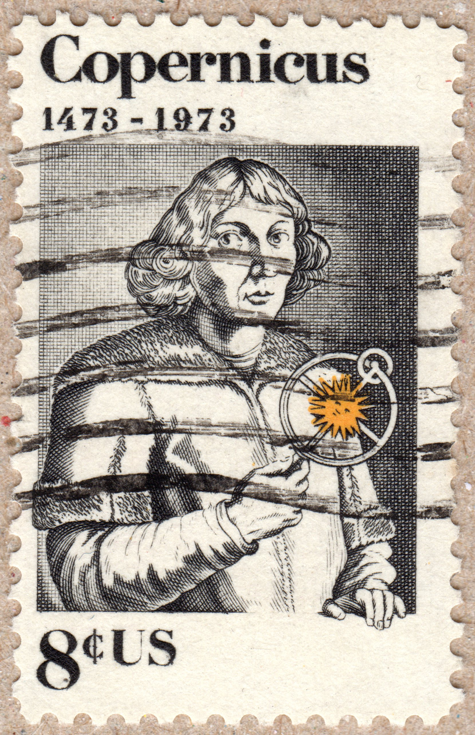 copernicus (1473-1973), 8¢ u.s. postage stamp philately postage stamps