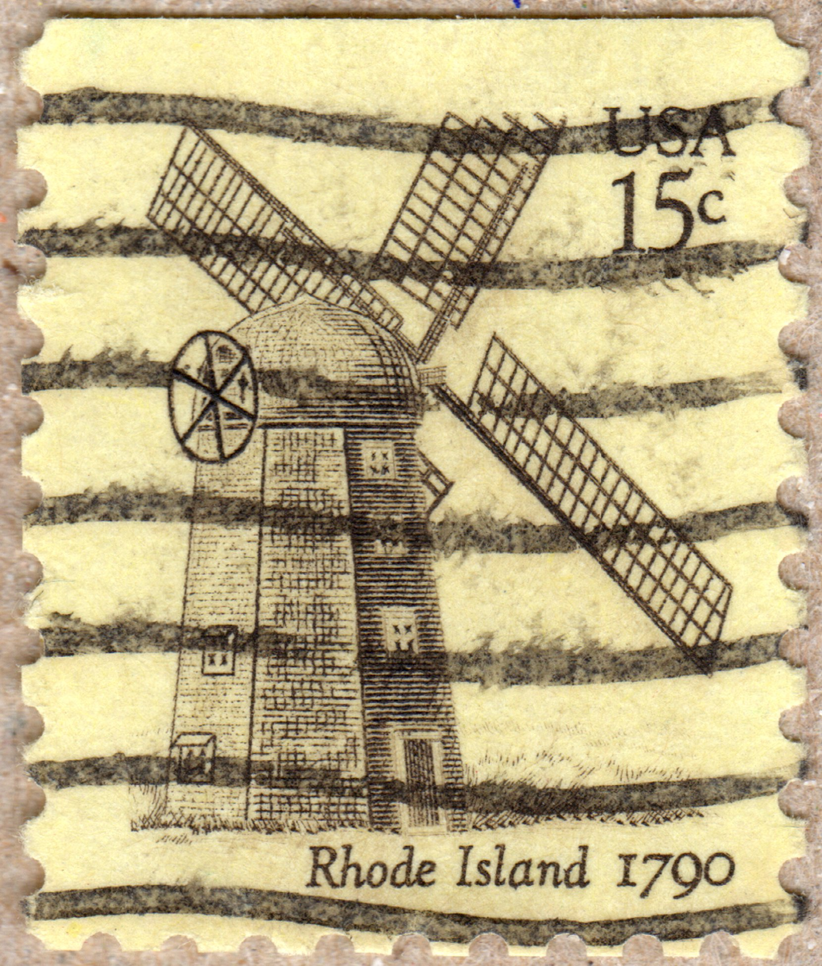 rhode island 1790 usa 15 ¢ u.s. postage stamp philately postage stamps