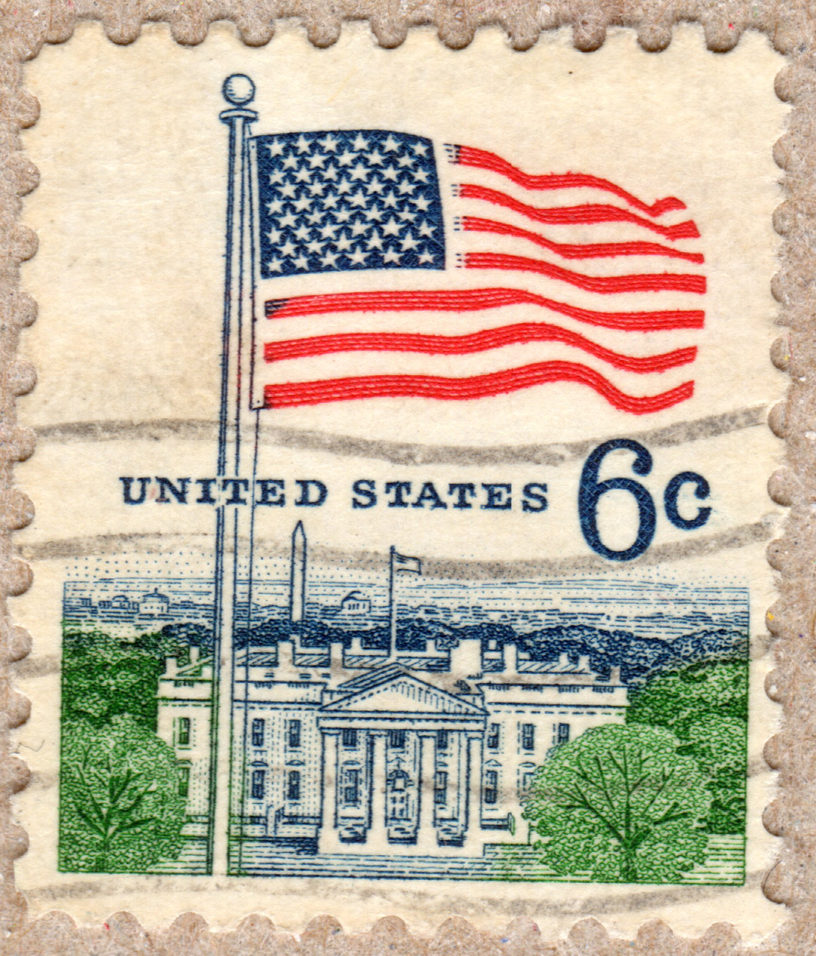united states 6¢ stamp philately postage stamps