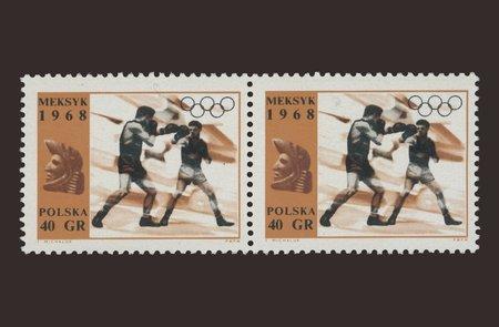 Meksyk 1968 / 40 gr Stamps