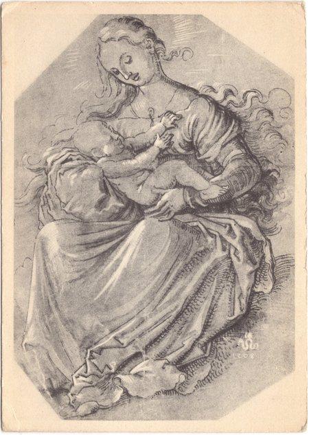 Madonna and Child by Lucas Cranach the elder, (1472-1553)