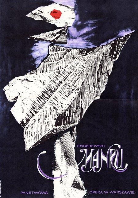 I. Paderewski, Manru by Roman Cieślewicz (1961)
