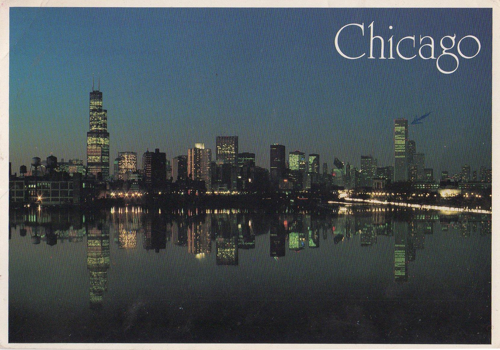 chicago postcards standard – printed card