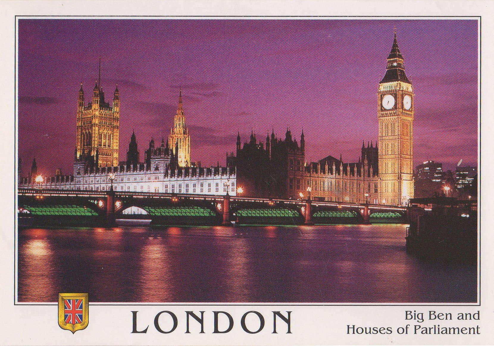 london postcards standard – printed card