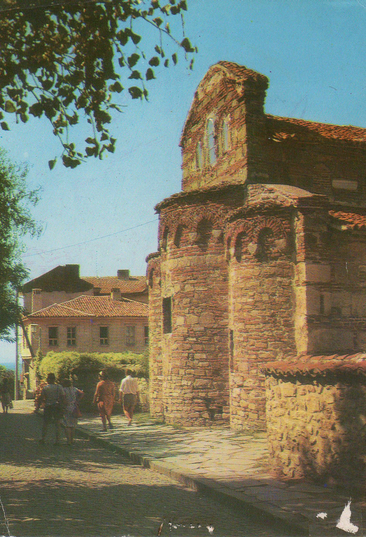 nessebar  (bulgaria) postcards standard – printed card