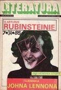 """Literatura"" Magazine, 1985-7"