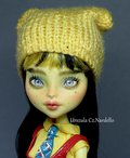 CAM Create A Monster: Insect-Bee Monster High repaint OOAK doll