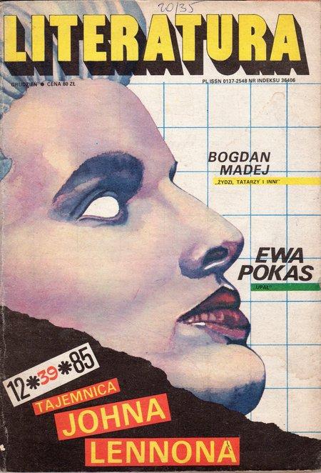 """Literatura"" Magazine, 1985-12"