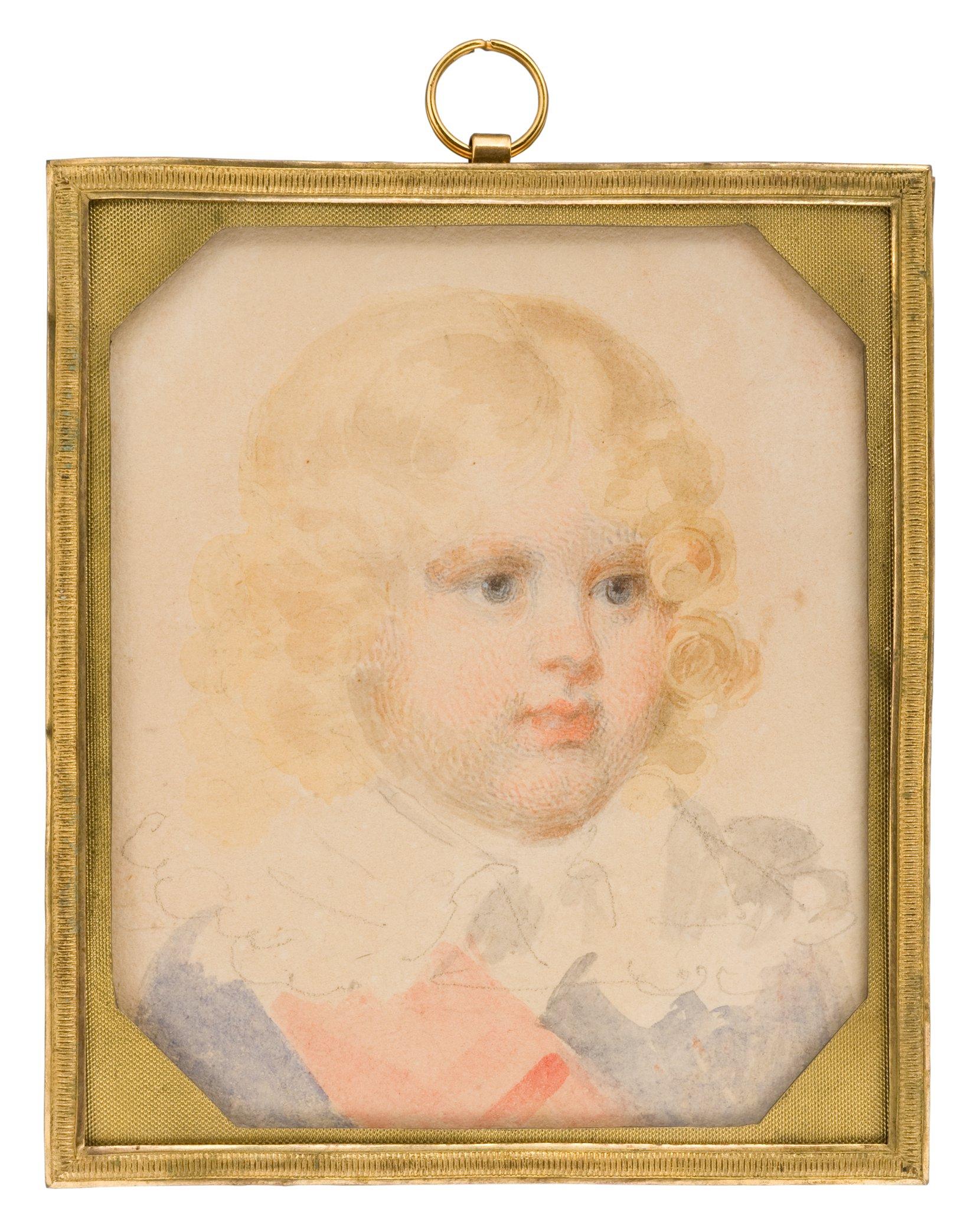 napoléon françois joseph charles bonaparte, king of rome -- jean-baptiste isabey art