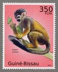 Samiri sciureus, 2010 Guinea-Bissau Stamp