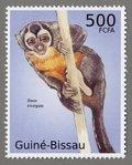Sima trivirgata, 2010 Guinea-Bissau Stamp