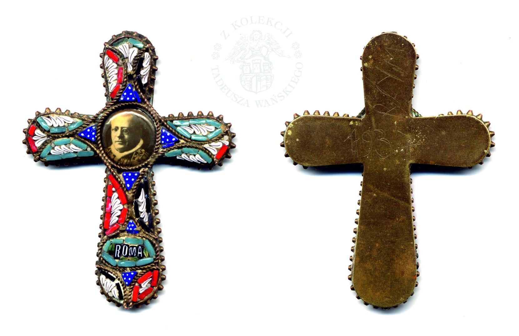 krzyżyk z piusem xi  numismatics coins