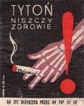 Etykieta 84: Tytoń niszczy zdrowie (1964)