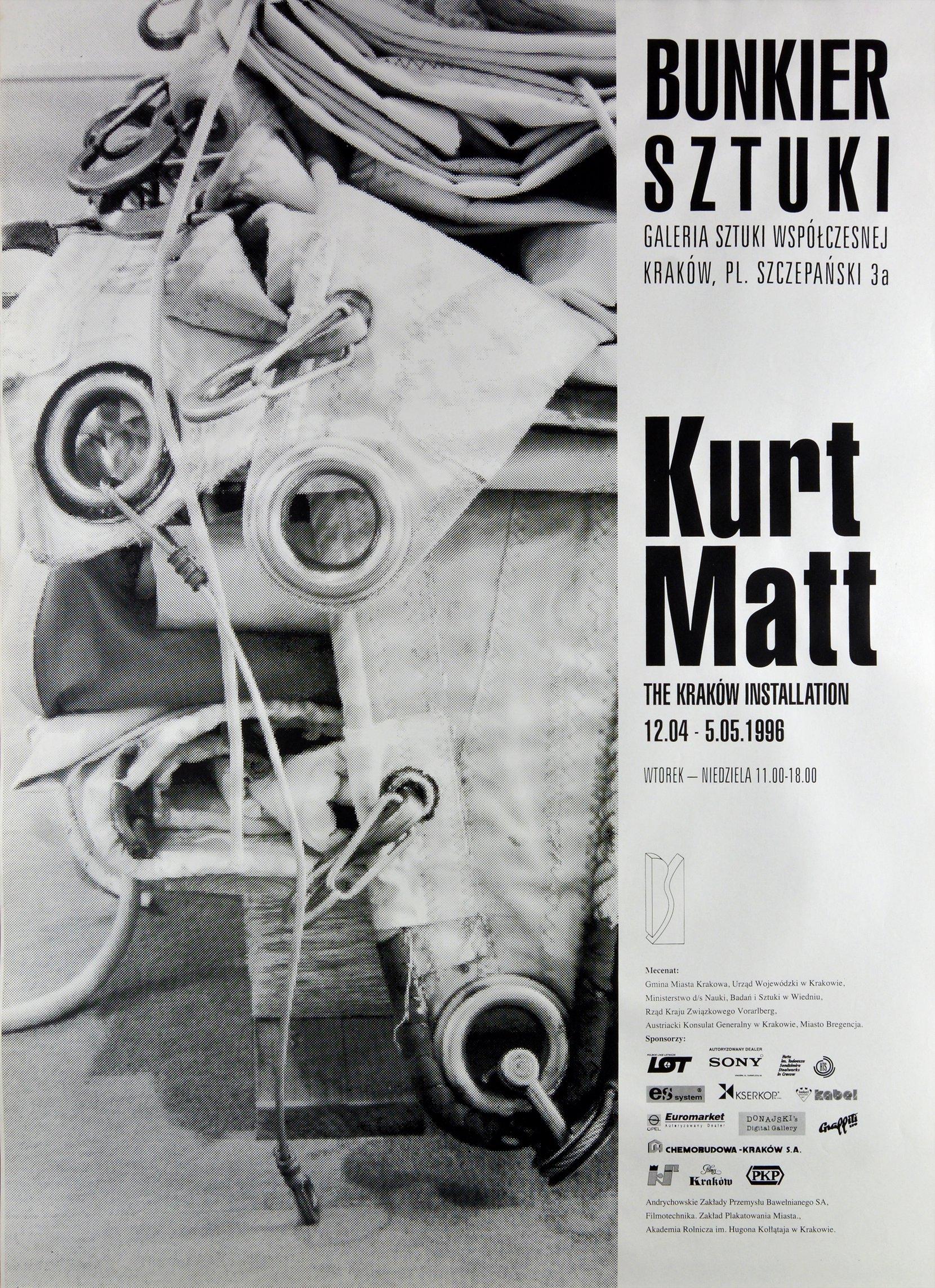 kurt matt, 1996 posters art posters MODULUS.agency