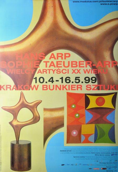 Hans Arp, Sophie Taeuber-Arp, 1999