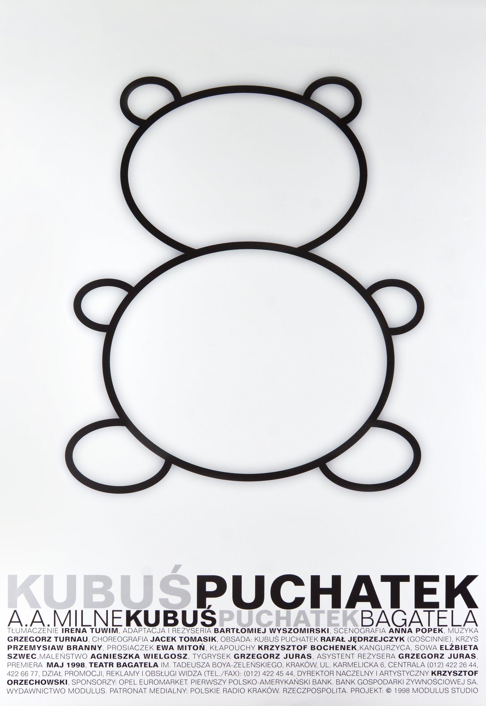 kubuś puchatek, modulus studio (1999) posters movie posters Modulus Studio