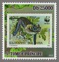 Bulgaria – Vespertilio murinus S.Tome e Principe Stamp (1)