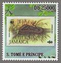 Jamaica – Jamaican boa S.Tome e Principe Stamp (2)