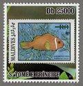 Maldives – Anemone fish S.Tome e Principe Stamp (3)