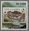 The Gambia, S.Tome e Principe Stamp (4)