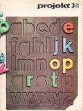 """""""projekt"""" Magazine, 1973-3"""