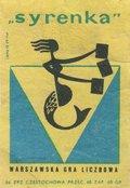 """Etykieta 87: """"Syrenka"""" (1962)"""