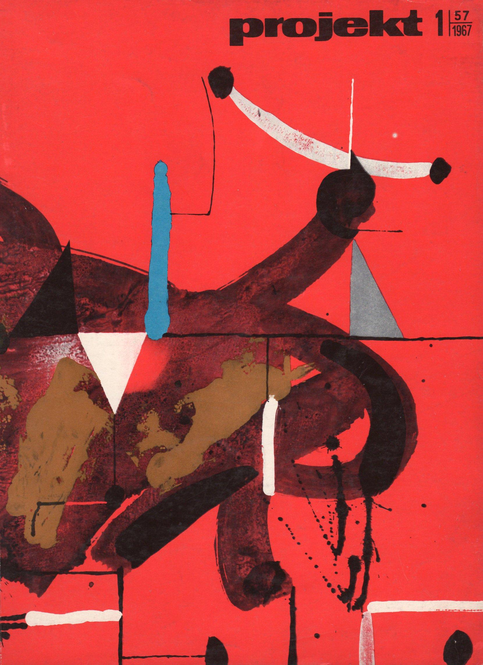 """projekt"" magazine, 1967-1 periodicals art & culture"