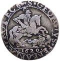 Ferrara - Paolo V (1605-1621) Giulio 1620 - Munt.219 - RR MOLTO RARA - Ag gr.2,4