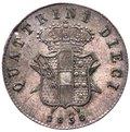 Firenze - Leopoldo II di Lorena (1824-1859) - 10 Quattrini II°Tipo 1858 - RARO - MIR.461 gr.1,96