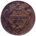 Gorizia - Giuseppe II d'Asburgo-Lorena (1780-1790) 1 Soldo 1788 K - Zecca di Kremnitz - Cu gr.2,69 Grading/Stato: BB+