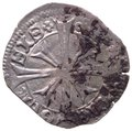 Aquileia - Marquardo di Randeck (1365-1381) Denaro - CNI VI/31/6-9 - Ag gr.0,89