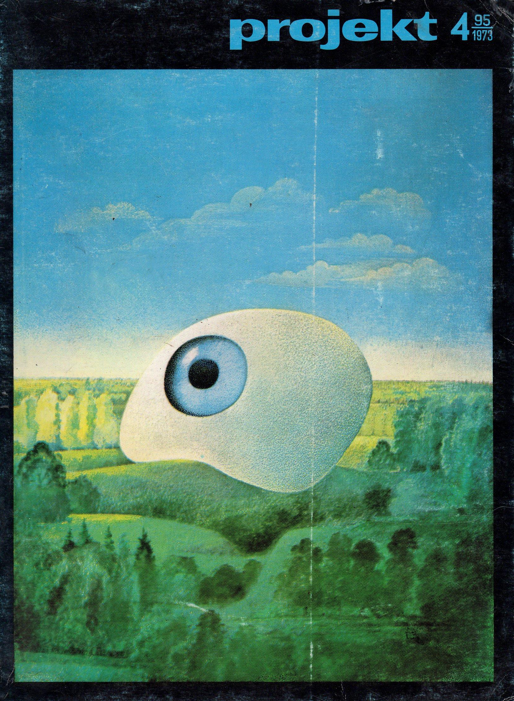 """projekt"" magazine, 1973-4 periodicals art & culture"