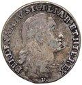 Regno di Napoli - Ferdinando IV (1759-1816) Tarì da 20 Grana del II°Tipo 1796 - Gig.103 - Ag gr.4,12
