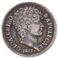 Regno di Napoli - Gioacchino Napoleone Murat (1808-1815) 1/2 Lira 1813 - Mir.444 - Ag gr.2,40