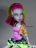 Marisol Coxi -Monster High repaint OOAK doll