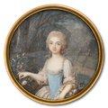 Girl with Flower Basket --Louis-Lié Périn-Salbreux