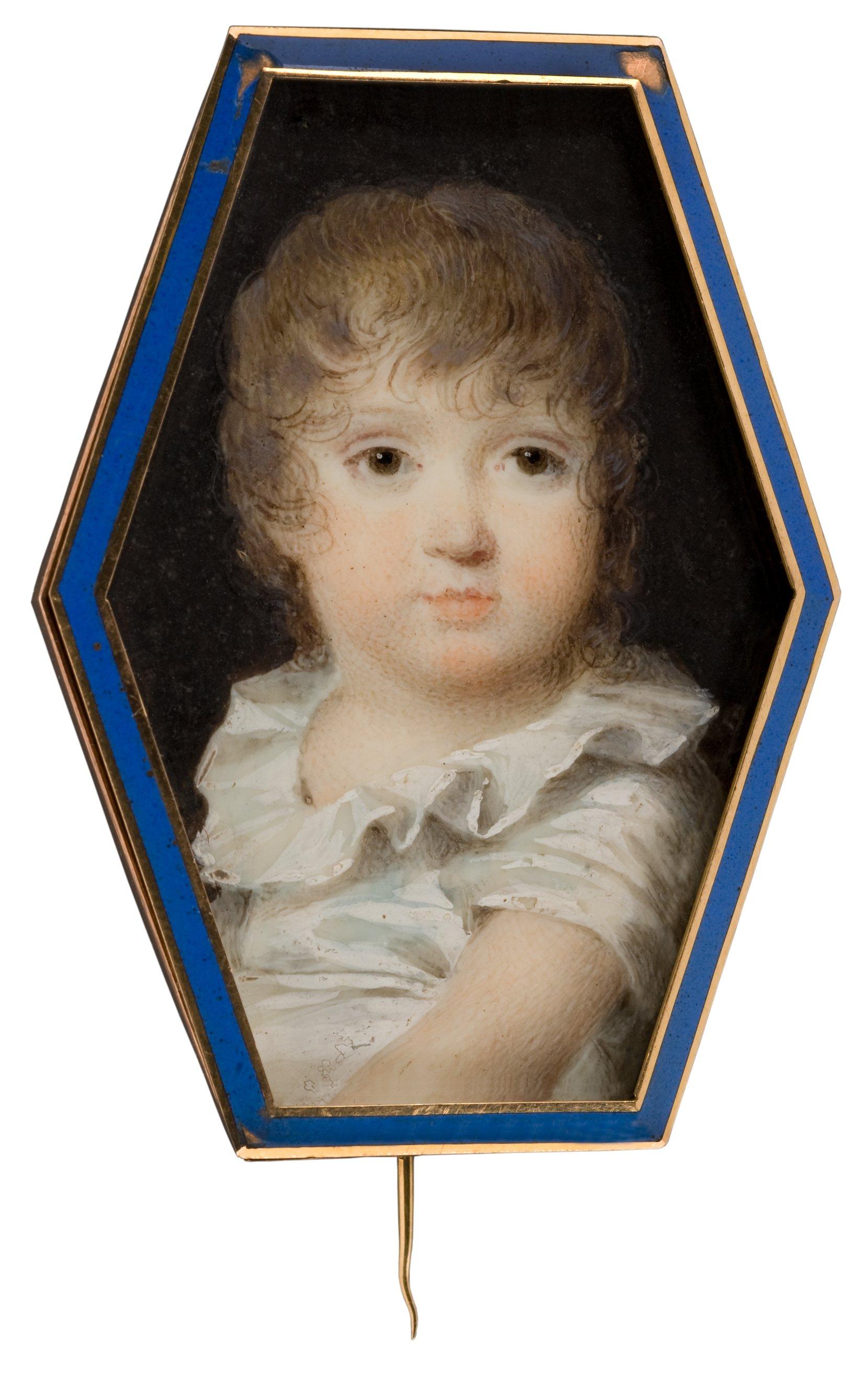boy in a white shirt --jean-baptiste isabey art painting