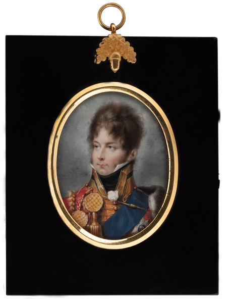 king george iv of great britain and ireland, king of hanover, as prince of wales -- peter eduard stroely art painting