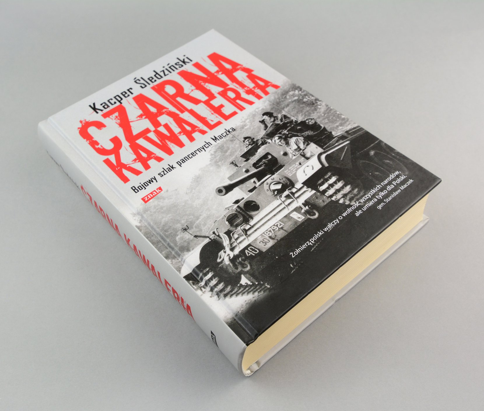 czarna kawaleria, bojowy szlak pancernych maczka, 2011 books political science Kacper Śledziński