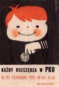 Etykieta 94: Każdy oszczędza w PKO (1965)