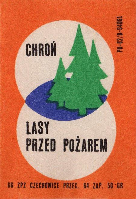 Etykieta 95: Chroń lasy przed pożarem (1966)