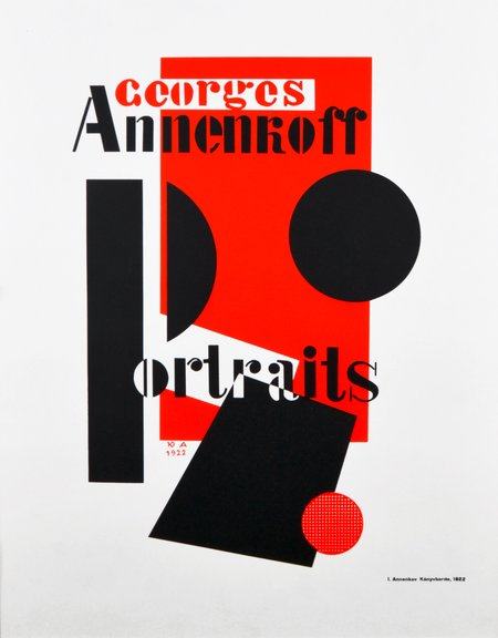 Georges Annenkoff Portraits, 1922 (reprint: 80s)