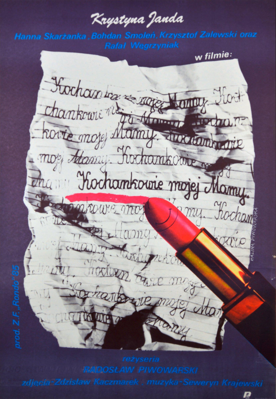 kochankowie mojej mamy, halina piwowarska, 1986 posters movie posters Halina Piwowarska