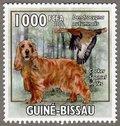 Cocker Spaniel ingles, 2010 Guinea-Bissau Stamp (1)