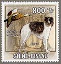 Borzoi, 2009 Guinea-Bissau Stamp (2)