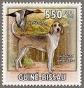 Foxhound americano, 2009 Guinea-Bissau Stamp (3)