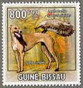 Galgo ongles, 2009 Guinea-Bissau Stamp (4)